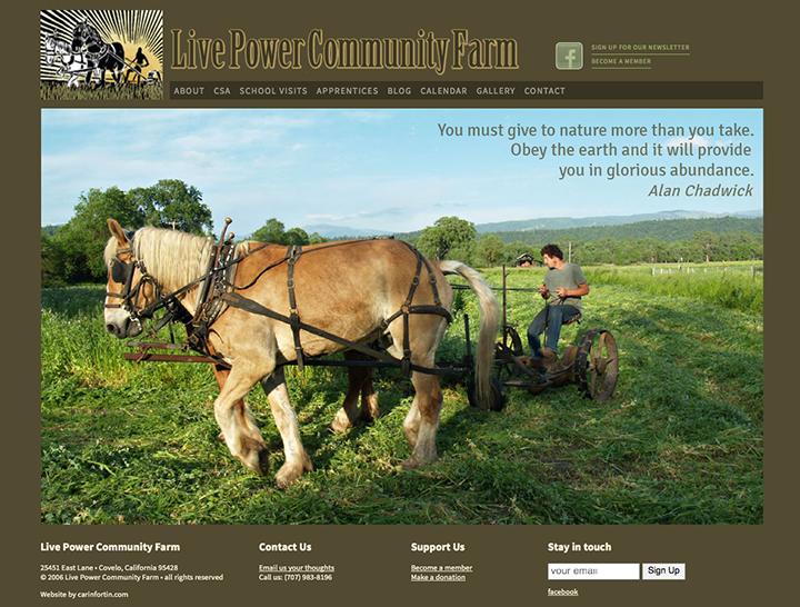 Live Power Community Farm