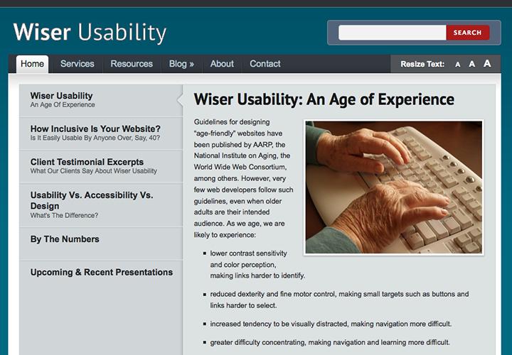Wiser Usability